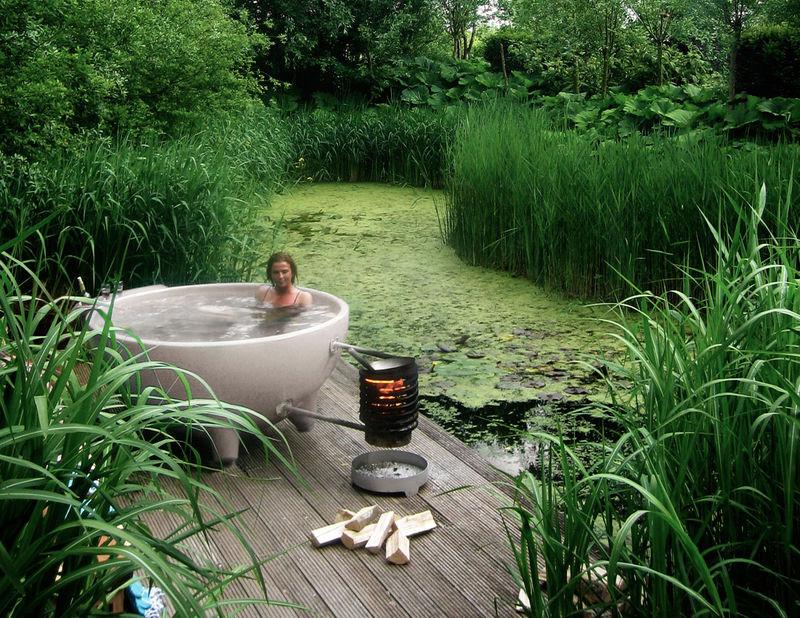Bowl Shaped Hot Tubs Wood Burning Hot Tub
