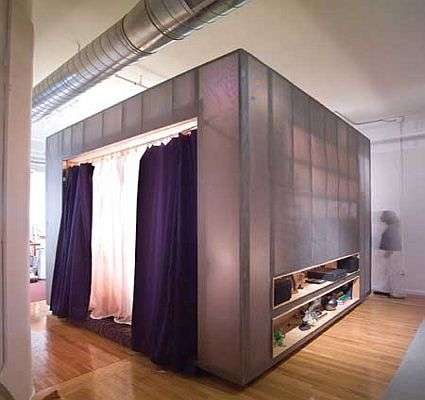 z-box: the freestanding bedroom-in-a-box