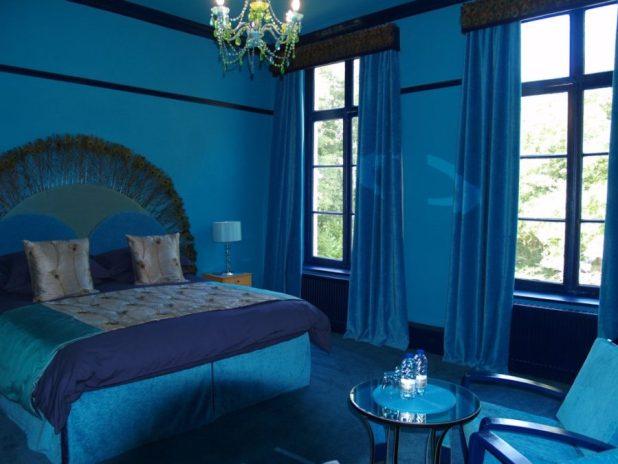 Monochromatic Blue Bedroom   Scandlecandle.com