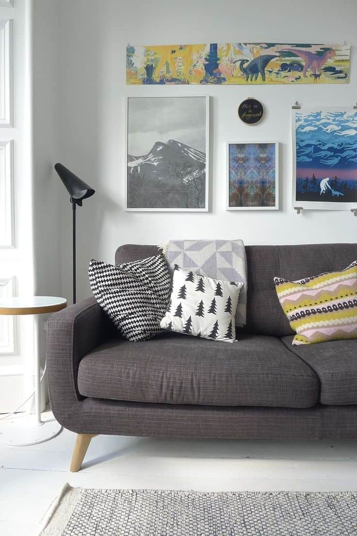 40 Accent Color Combinations To Get Your Home Decor Wheels