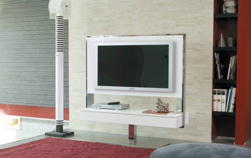 44 Modern TV Stand Designs for Ultimate Home Entertainment View in gallery Tecno TV unit by Antonello Italia