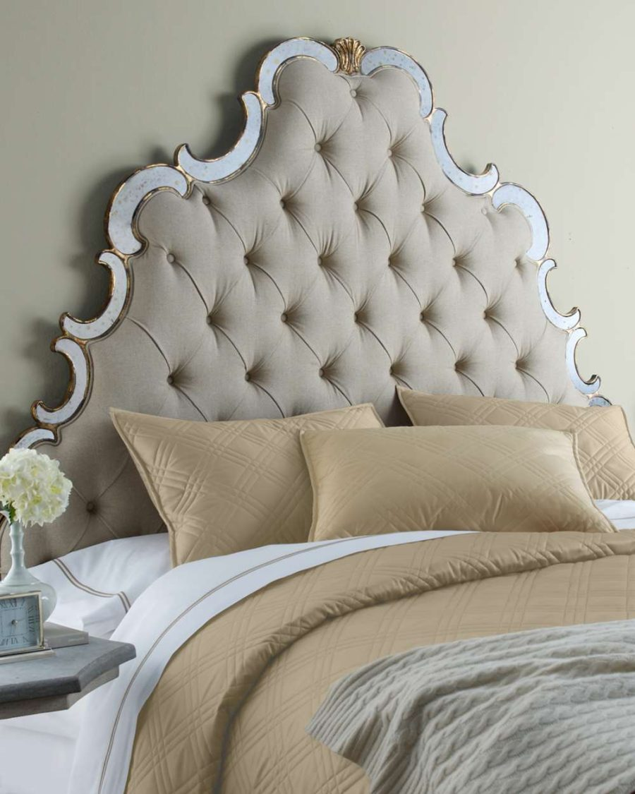 These 37 Elegant Headboard Designs Will Raise Your Bedroom To A New     View in gallery Elegant Queen size bed 900x1125 These 37 Elegant Headboard  Designs Will Raise Your Bedroom To A