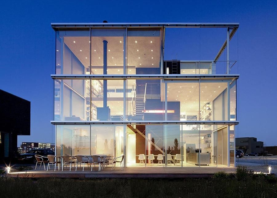 Stunning Modern Glass Houses That Beling in the Storybooks on Modern Glass Houses  id=19188