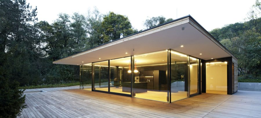 Stunning Modern Glass Houses That Beling in the Storybooks on Modern Glass House  id=84904