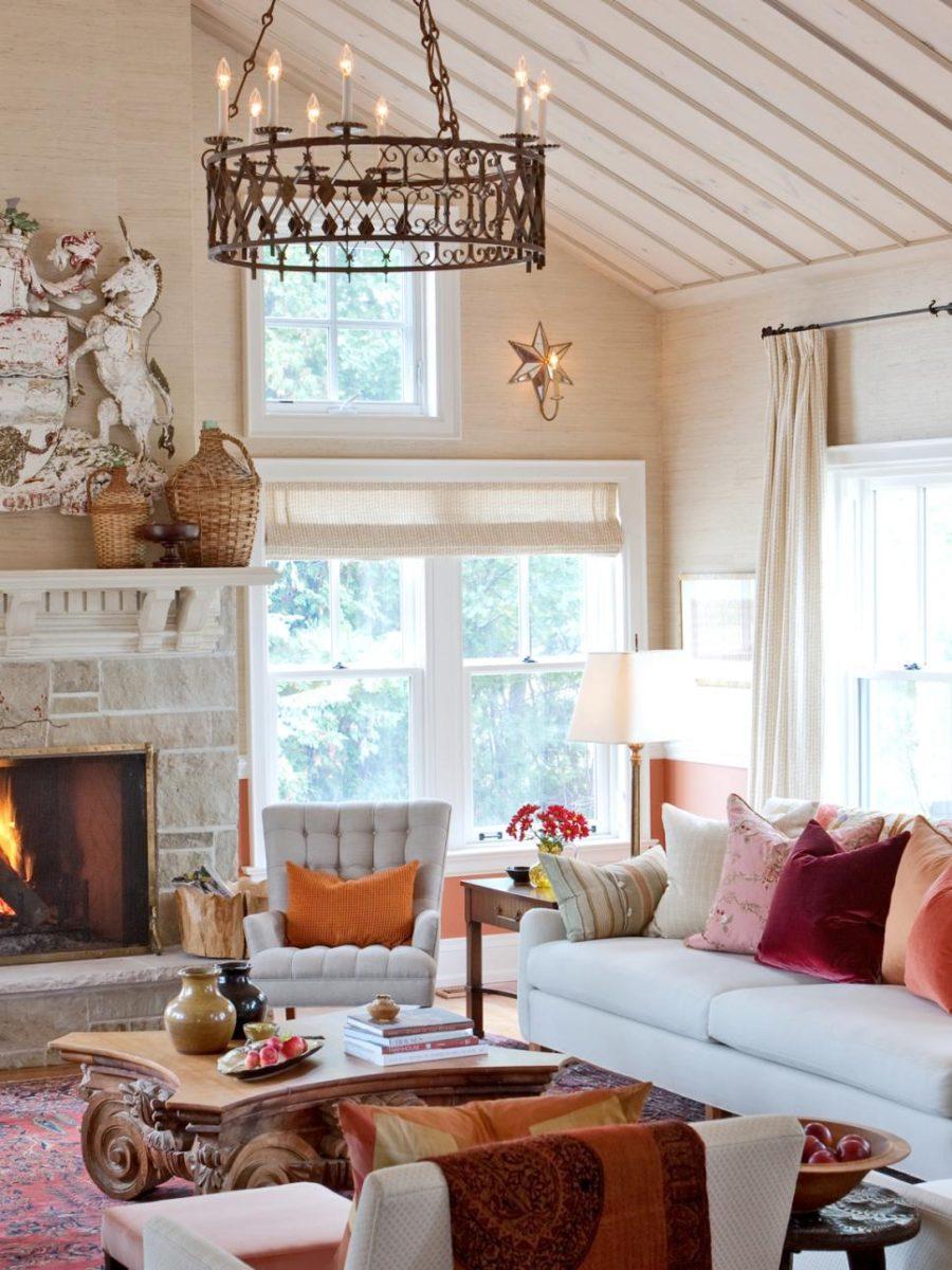 'Tis Autumn: Living Room Fall Decor Ideas on Living Room:5J0Grrq-Soy= Curtains Design  id=32512
