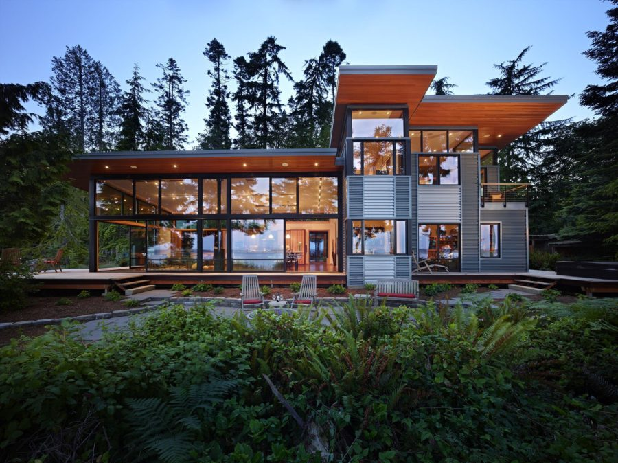 Stunning Modern Glass Houses That Beling in the Storybooks on Modern Glass Houses  id=13240