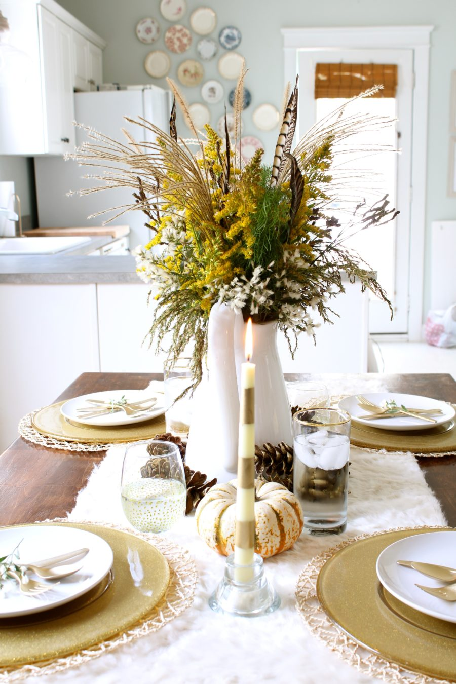 Dining Room Cheap Simple Christmas Table Decorations Novocom Top