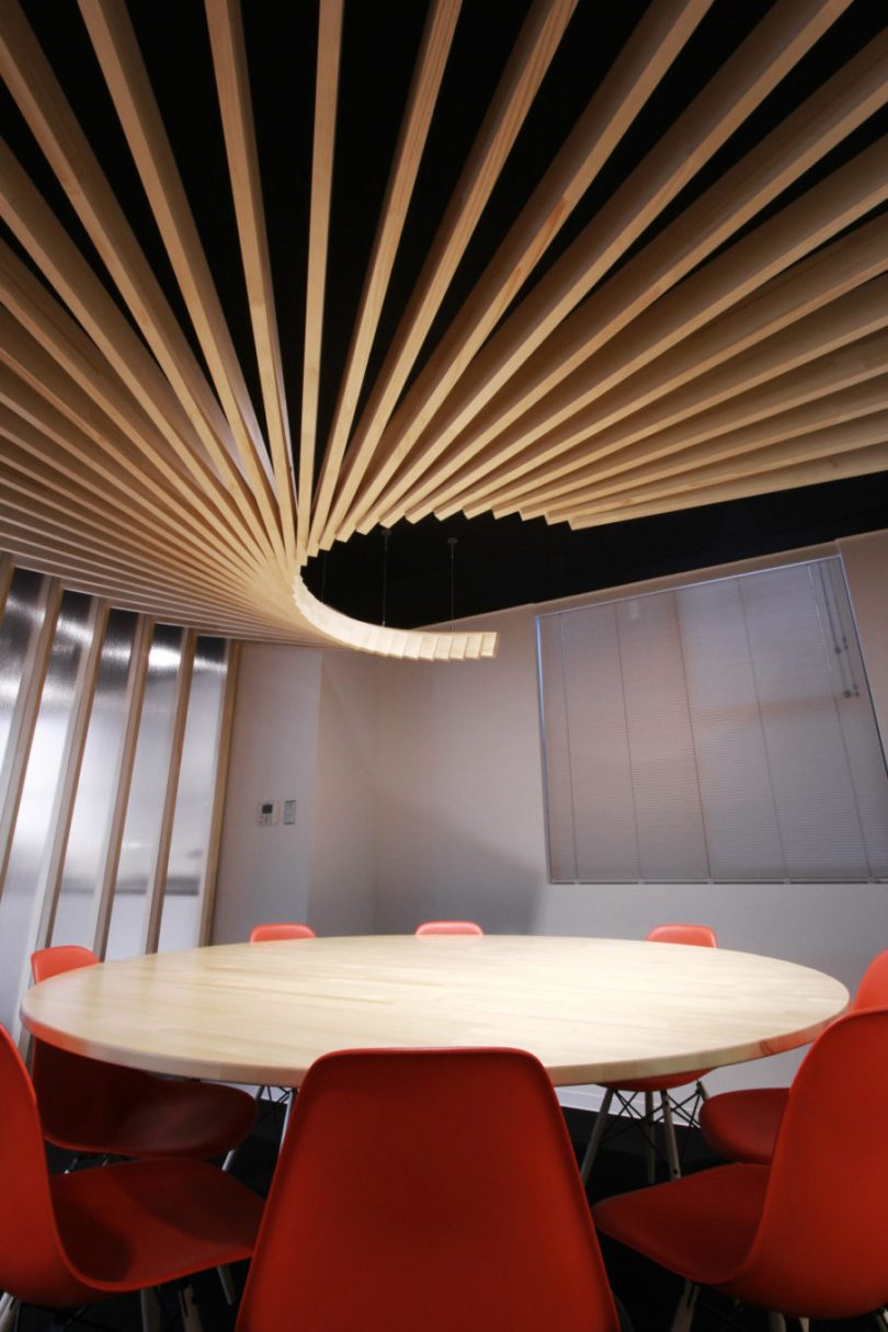 CDS Offices by BAKOKO 900x1350 Unique Ceiling Designs for House of Every Style