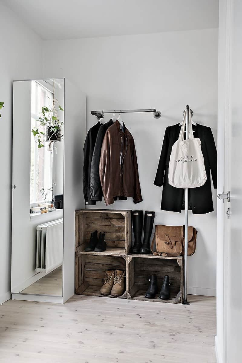 Tall Closet Shoe Rack