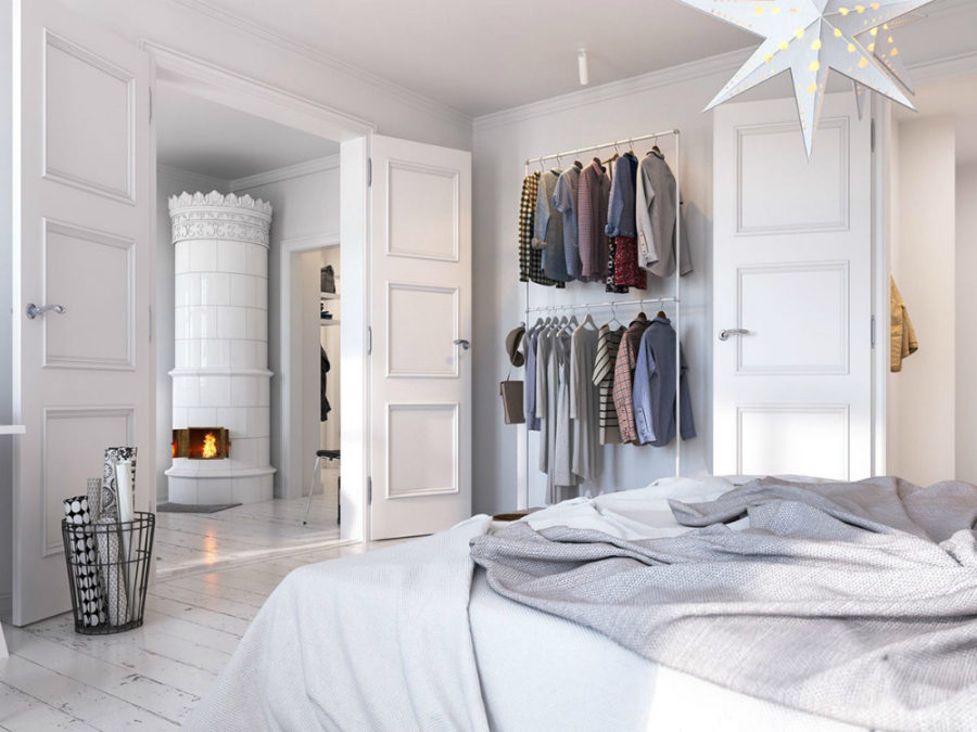 open closet ideas for small spaces