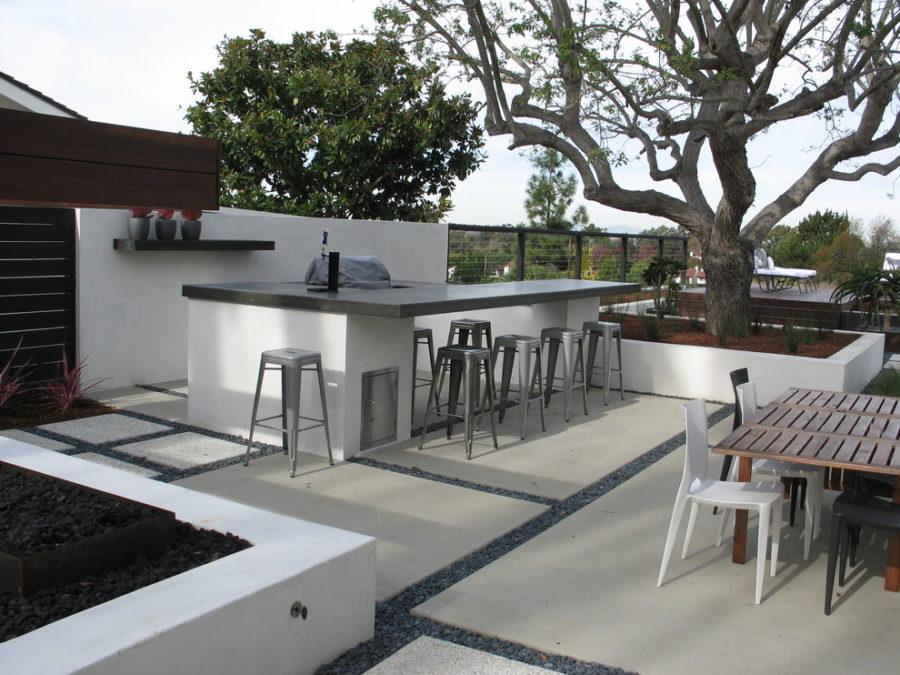 20 Modern Outdoor Bar Ideas To Entertain With! on Backyard Lounge Area Ideas id=72331