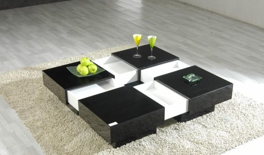 Large Modern Coffee Table