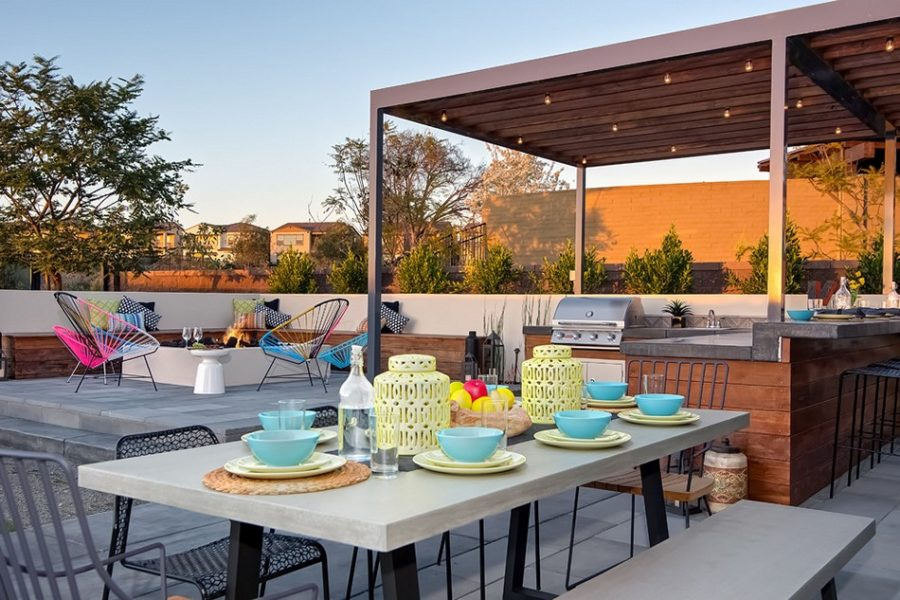 20 Modern Outdoor Bar Ideas To Entertain With! on Patio With Bar Ideas id=62239