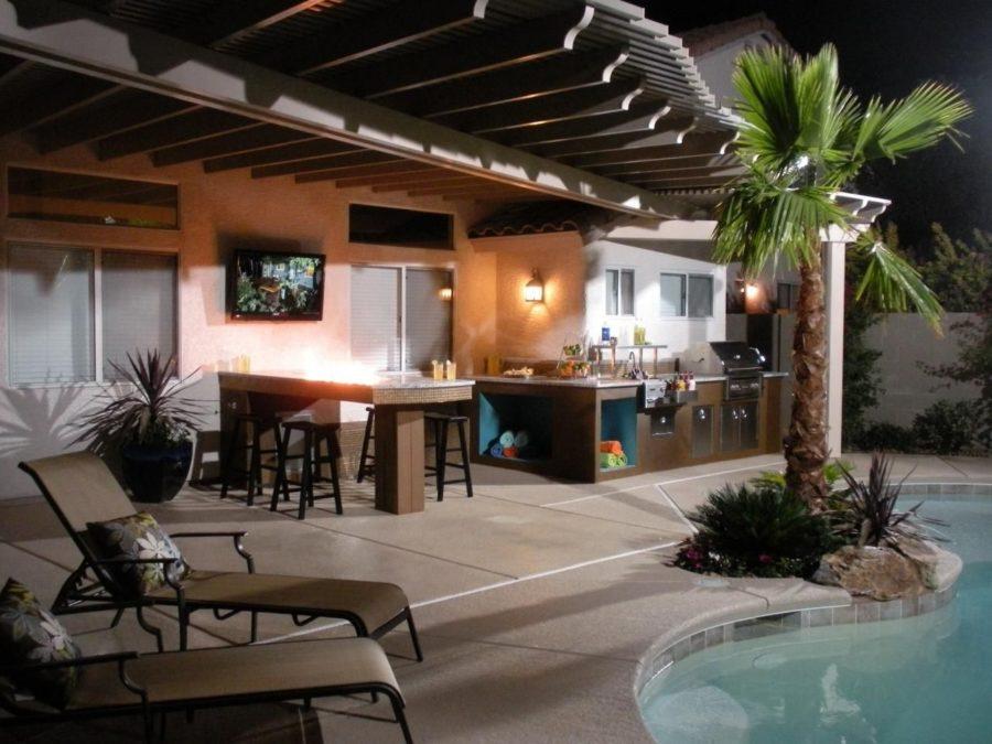20 Modern Outdoor Bar Ideas To Entertain With! on Backyard Lounge Area Ideas id=50595
