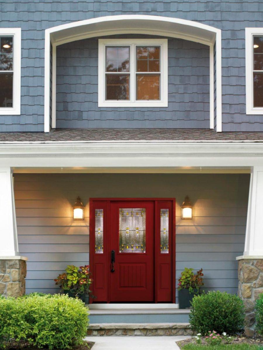 20 Front Door Designs To Revamp Your Welcome on Door Color Ideas  id=20150
