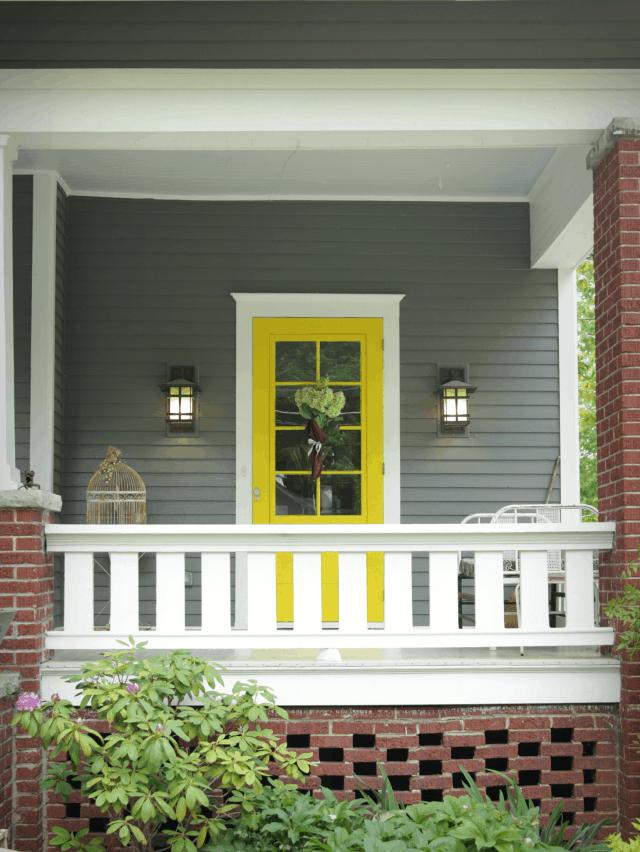 20 Front Door Designs To Revamp Your Welcome