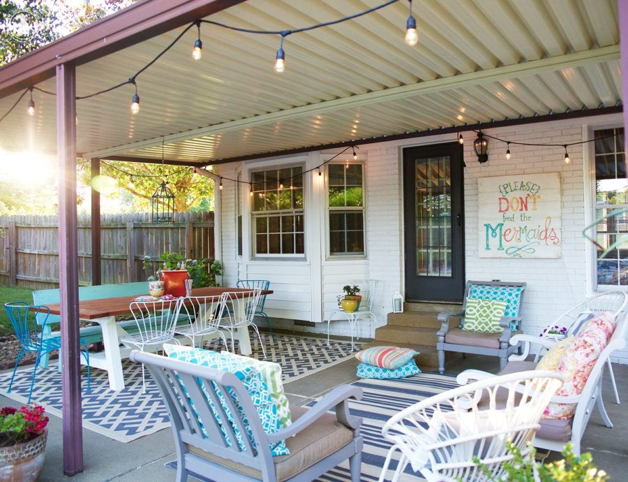 15 Super Simple Back Porch Ideas on Small Back Deck Decorating Ideas id=20510