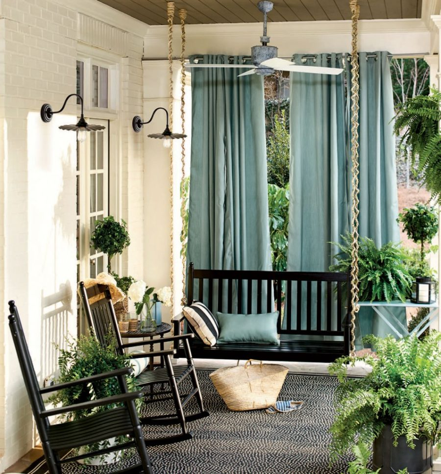15 Super Simple Back Porch Ideas on Simple Back Deck Ideas id=79100