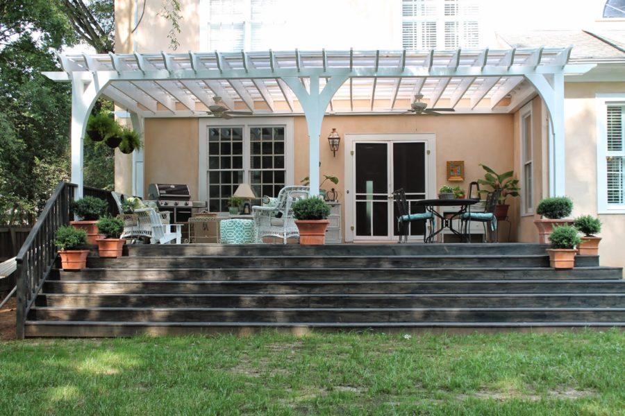15 Super Simple Back Porch Ideas on Simple Back Deck Ideas id=37605