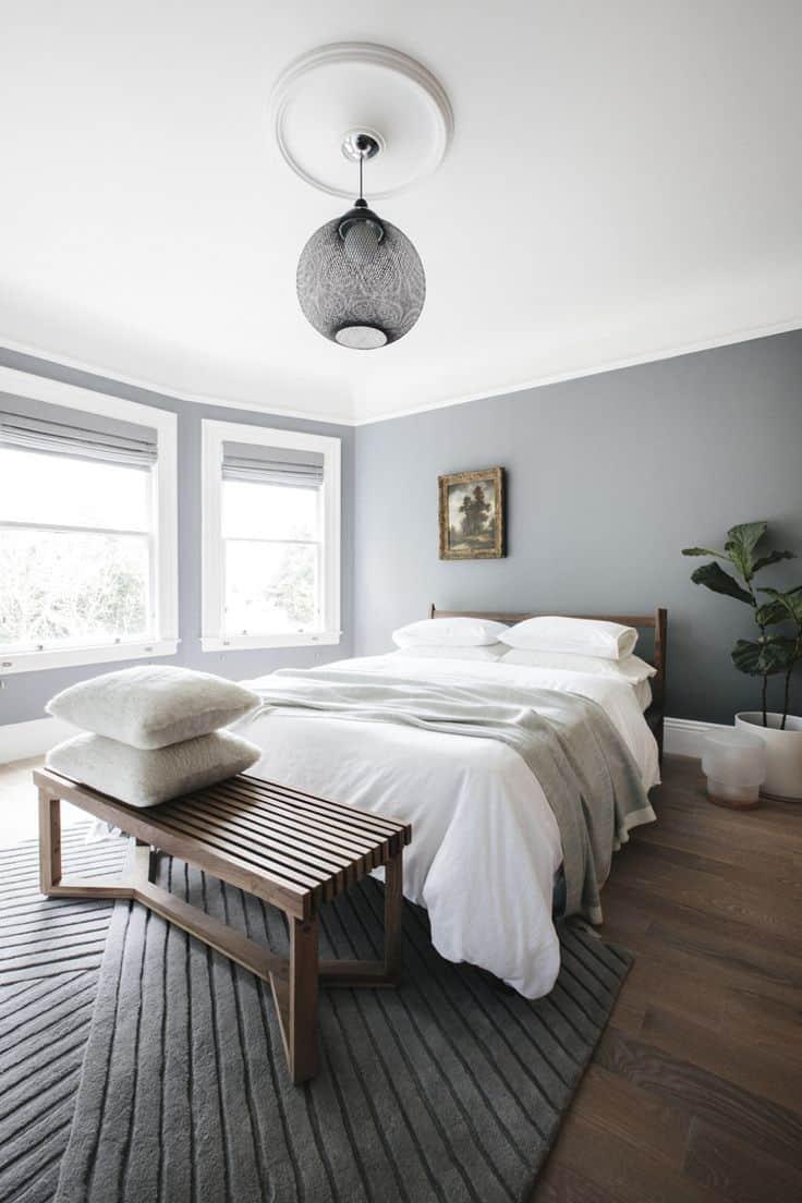 40 Simple and Chic Minimalist Bedrooms on Bedroom Minimalist Design Ideas  id=37096