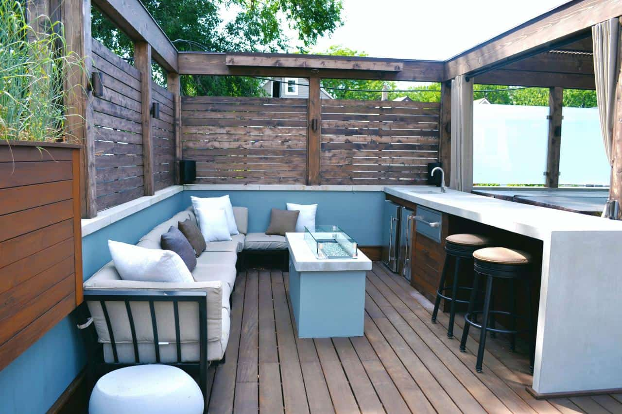 Trending Outdoor Bar Ideas to Try Today on Garden Entertainment Area Ideas id=88217