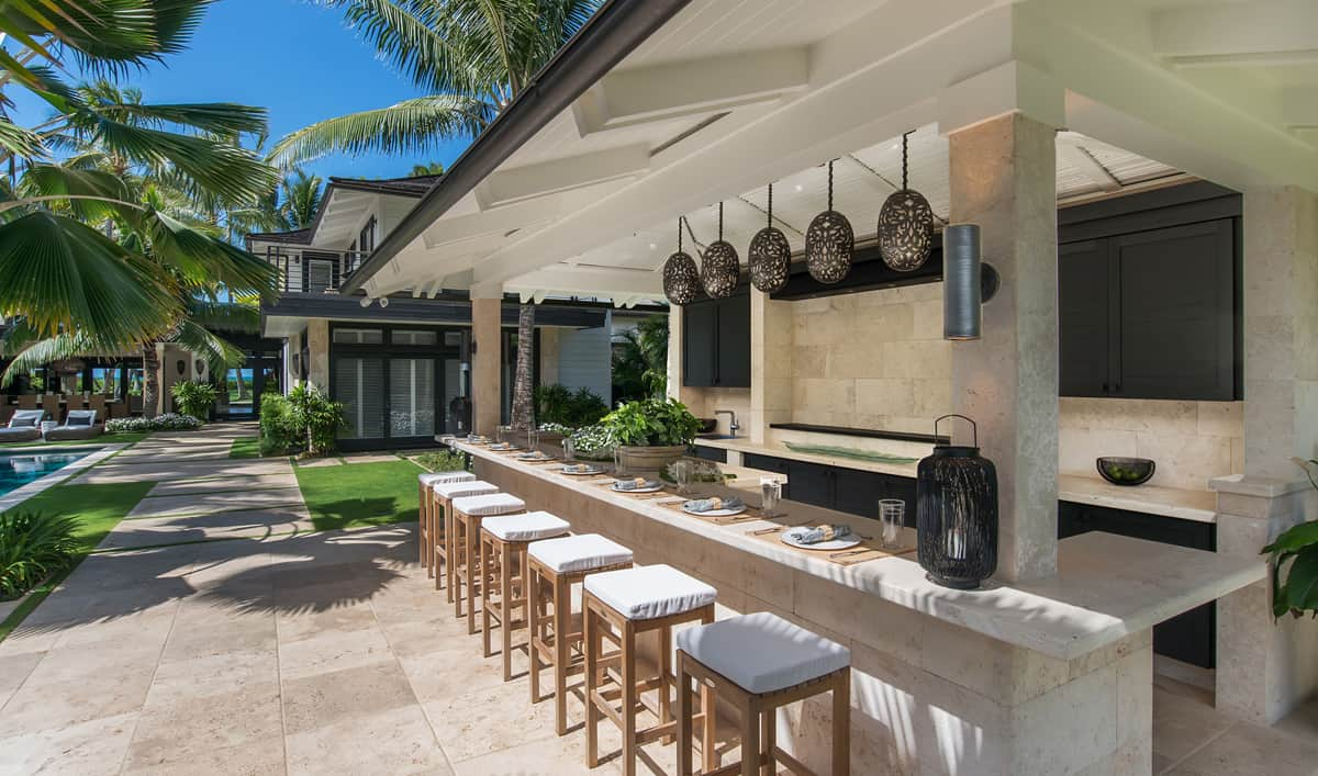 Trending Outdoor Bar Ideas to Try Today on Backyard Pool Bar Designs  id=32027