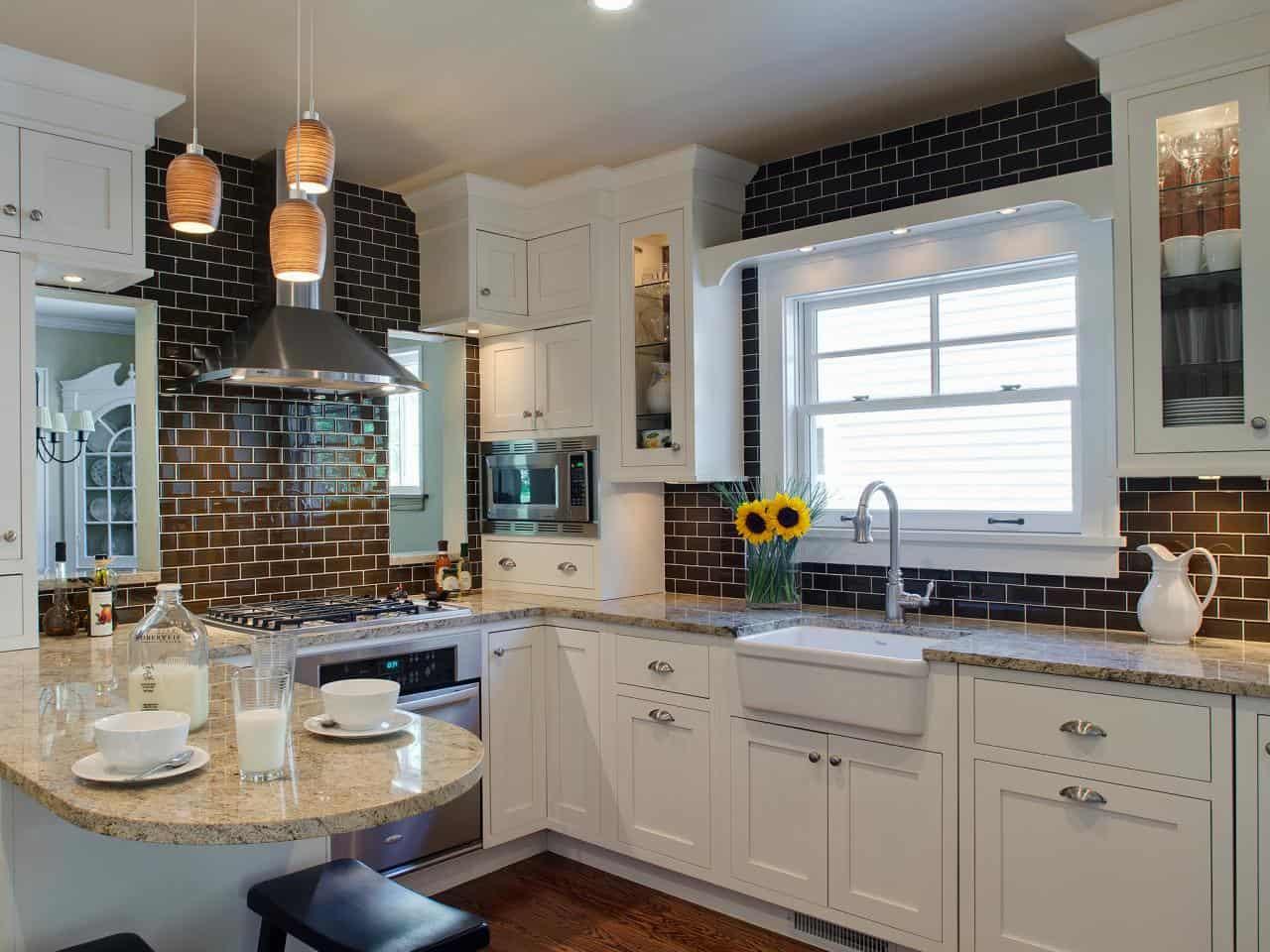 11 Kitchen Backsplash Ideas You Should Consider on Black Countertop Backsplash Ideas  id=34710