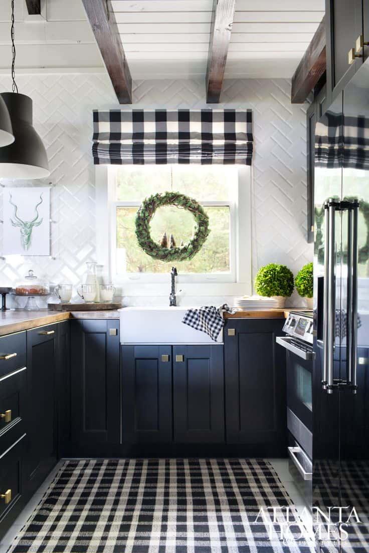 Buffalo Plaid Kitchen Decor Novocom Top