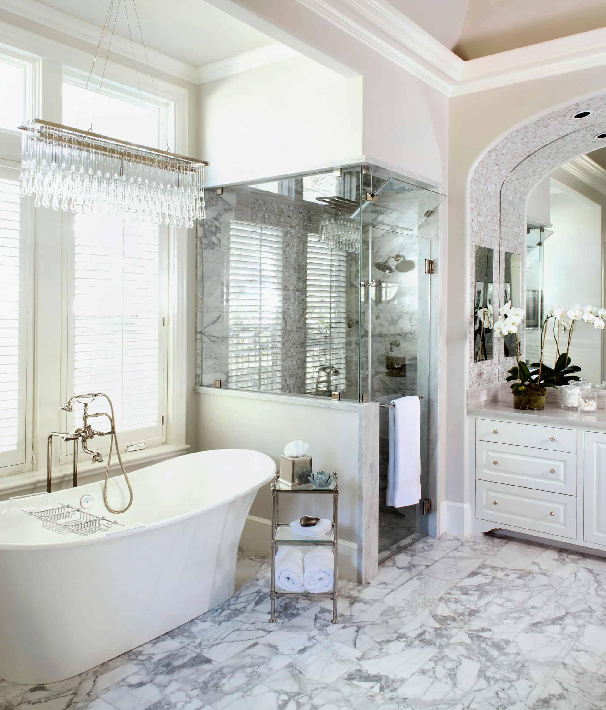 White Bathroom Designs That Will Inspire Your Next Renovations on White Bathroom Design Ideas  id=53822