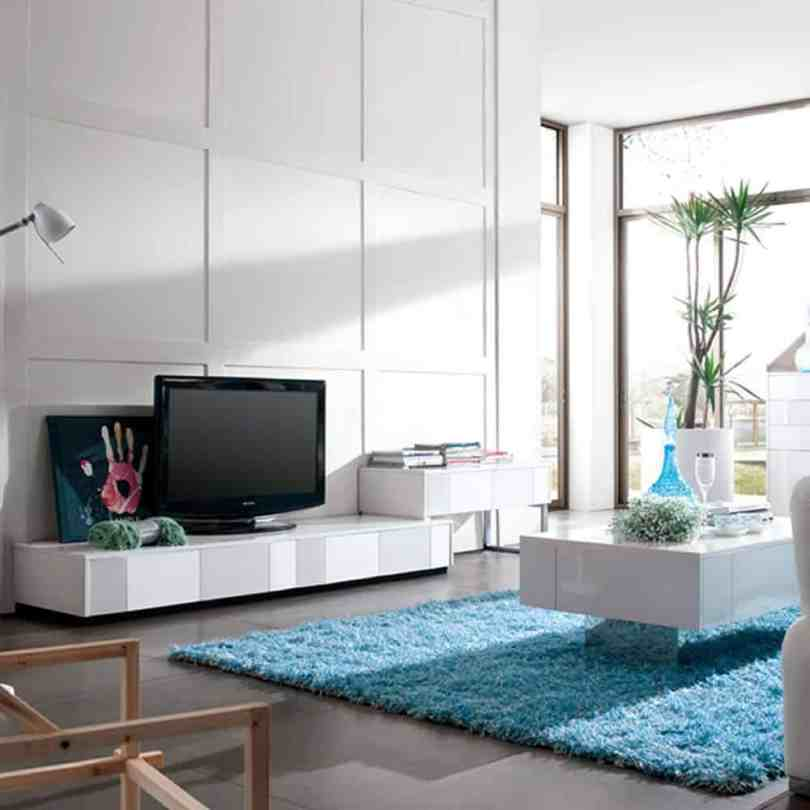 blue rug Living Room Rugs That Chicly Transform Your Space