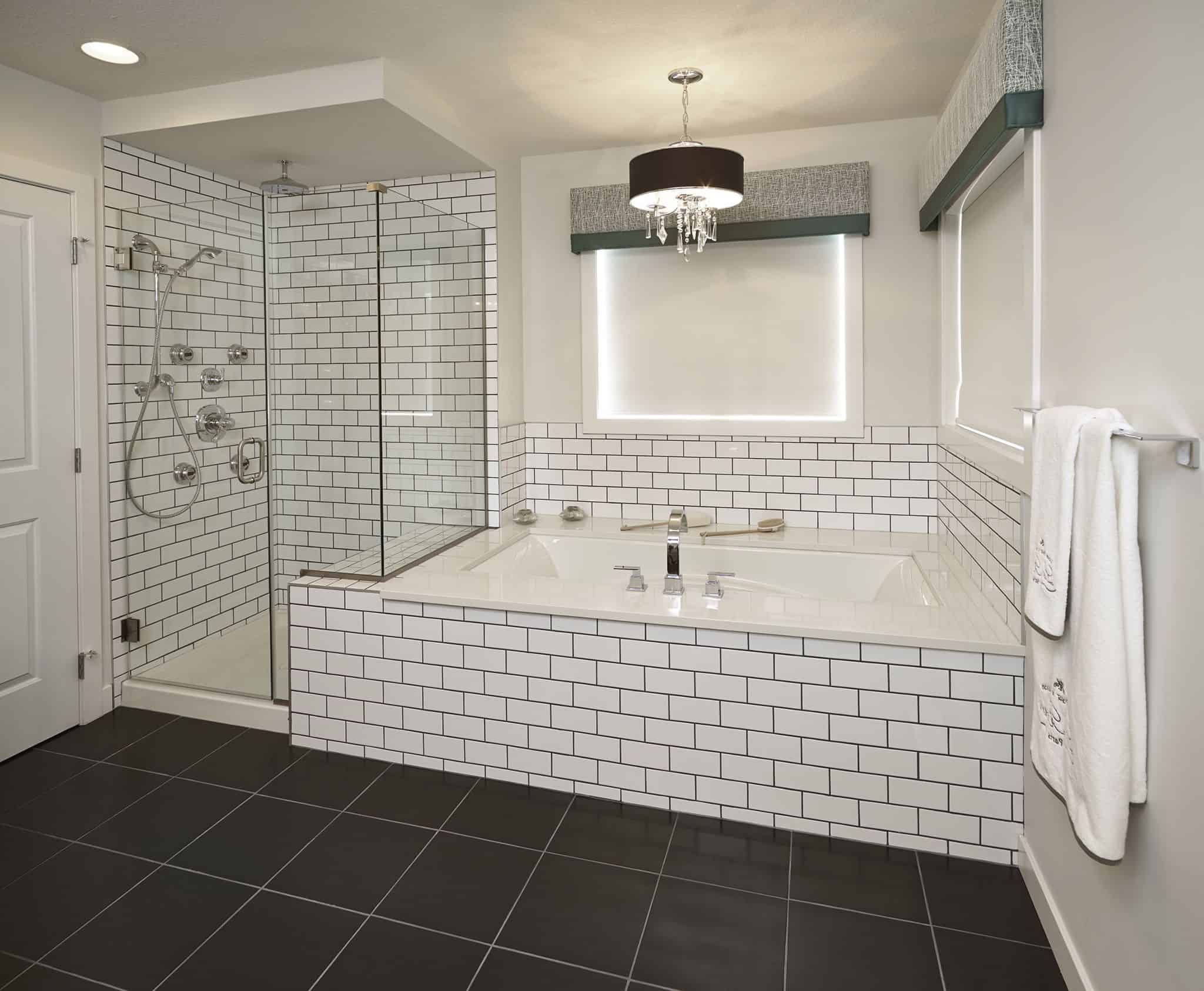 enchanting bathrooms with subway tiles