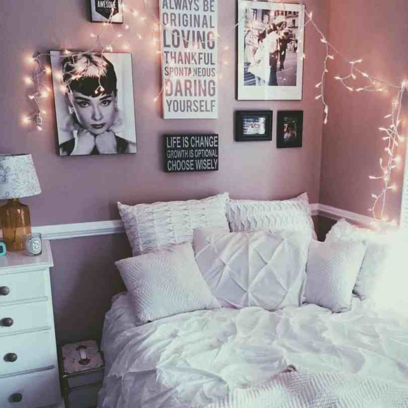 color and fun Charming Bedroom Ideas For Teenage Girls