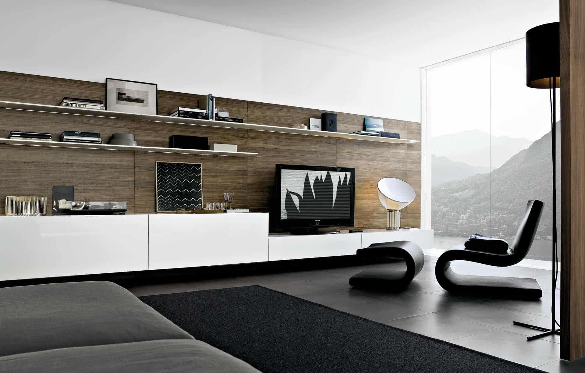 Show Stopping Modern Wall Units For Your Living Room