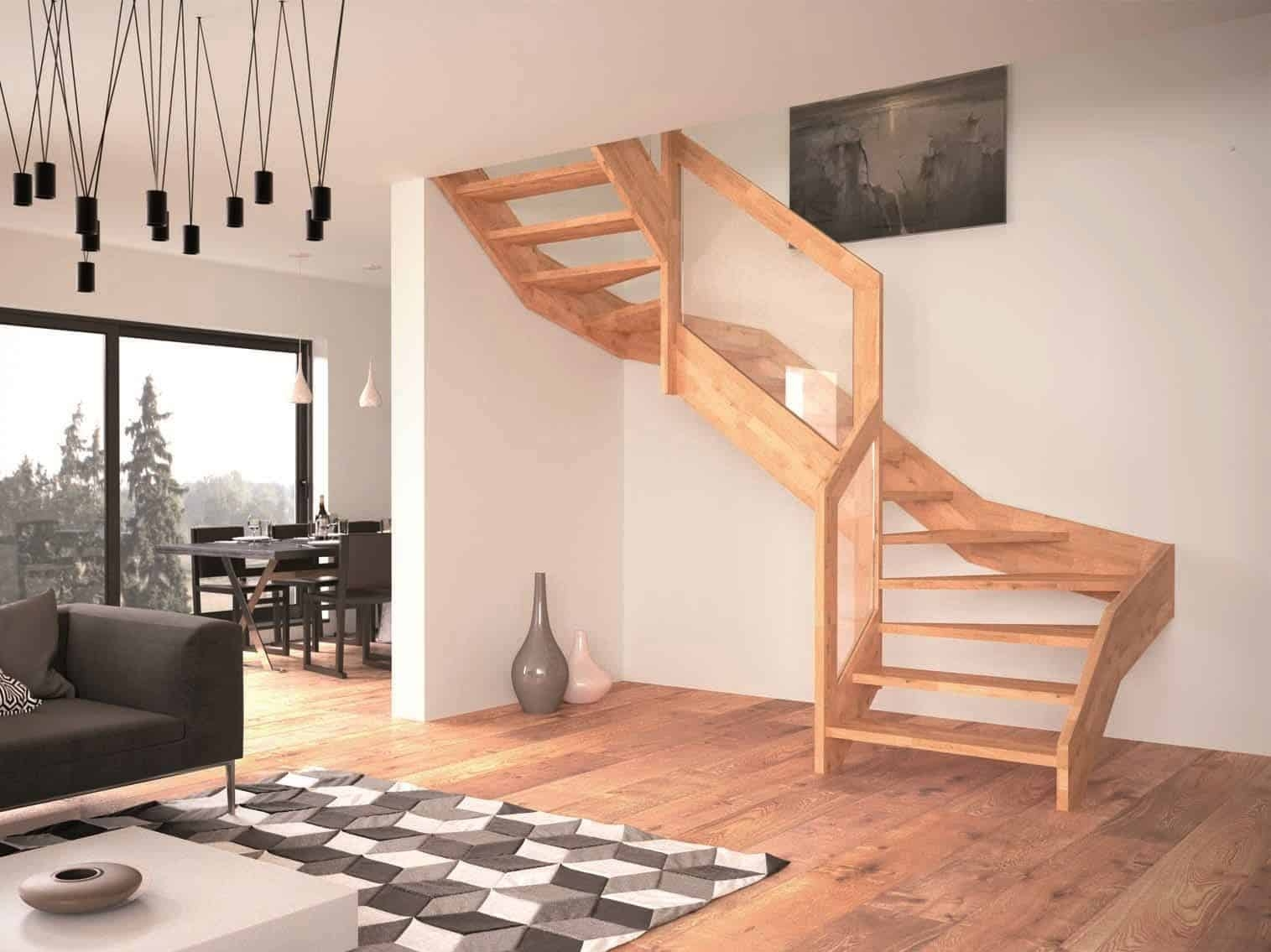 Contemporary Open Wooden Frame Staircases With Glass Railing By   Wood And Glass Staircase Railing   Tempered Glass   Glass Style Kerala   Rustic Glass Interior   Architectural Modern Wood Stair   Interior