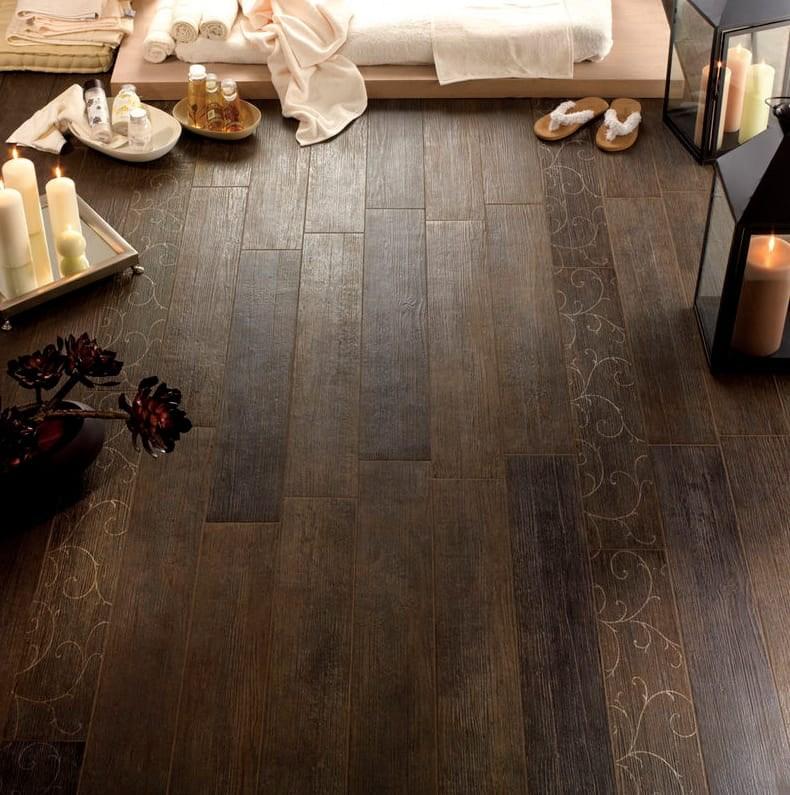 Wood Look Tile 17 Distressed Rustic Modern Ideas | Wood Look Tile For Stairs | Weathered Wood Distressed | Ceramic | Bedroom | Rocell Living Room | Porcelain