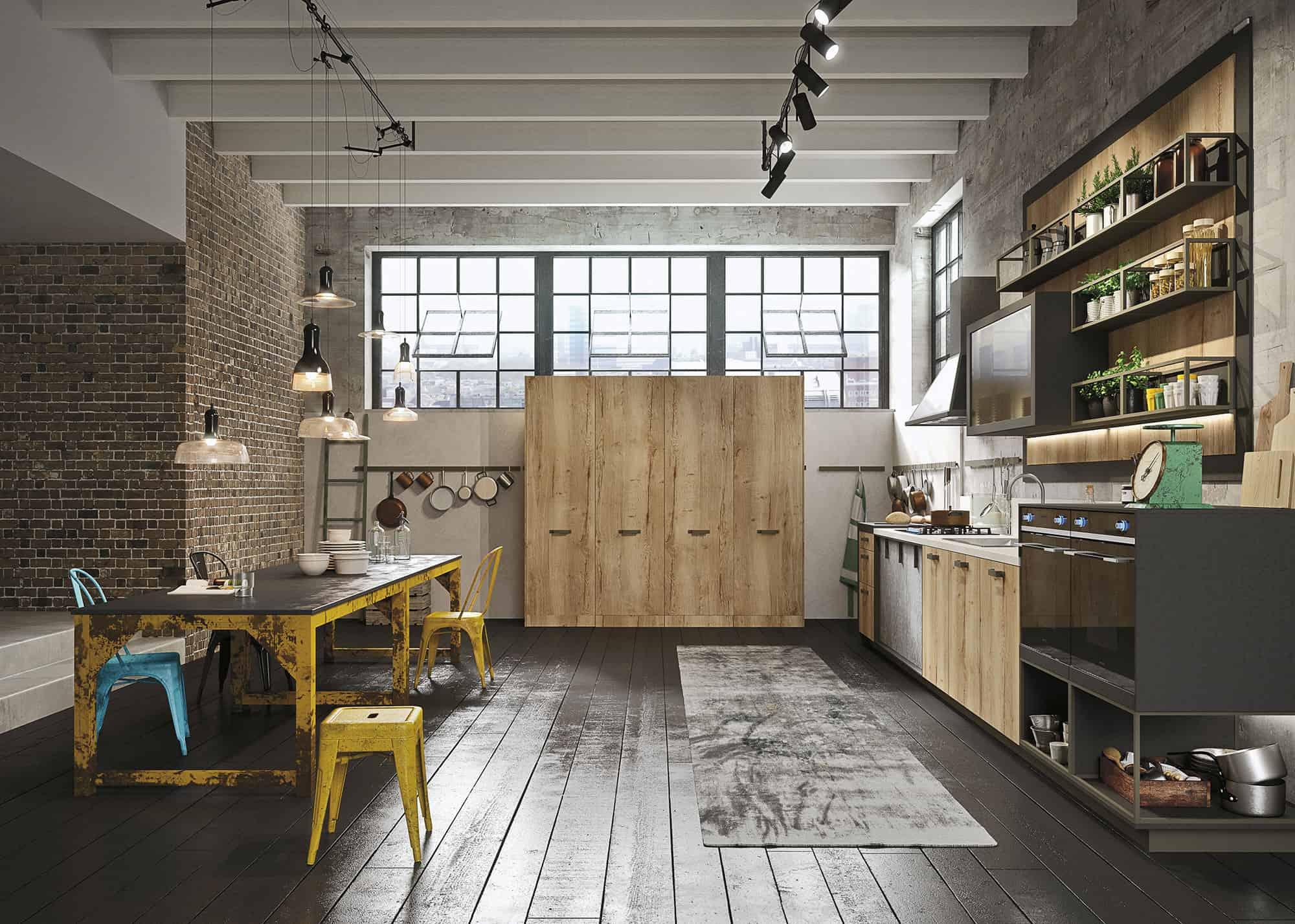 Urban Loft Kitchen Design   Novocom.top