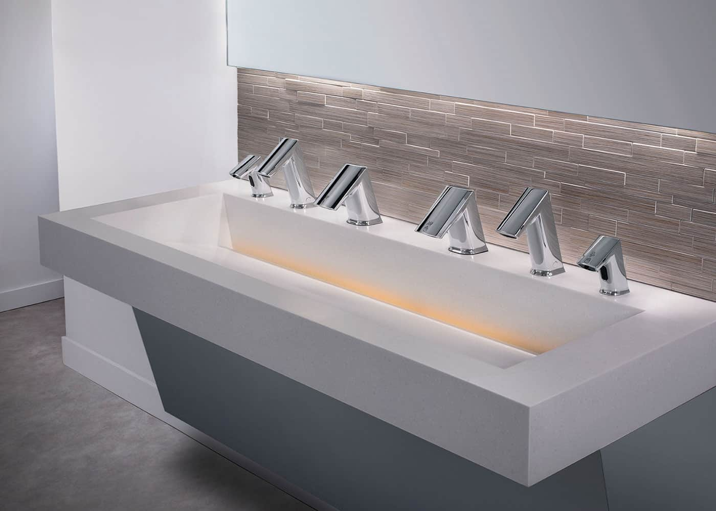 one sink does all three soap wash and