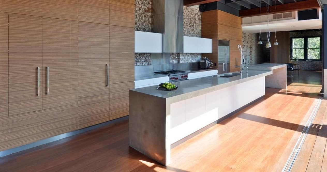 Modern Kitchen Countertops from Unusual Materials: 30 Ideas on Modern Kitchen Counter  id=73823
