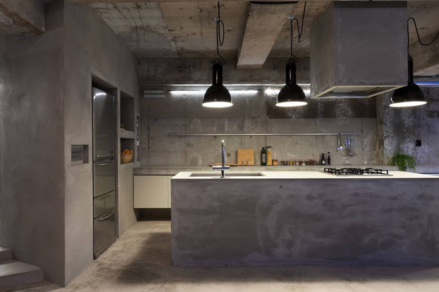 Modern Kitchen Countertops from Unusual Materials: 30 Ideas on Modern Kitchen Counter  id=83585