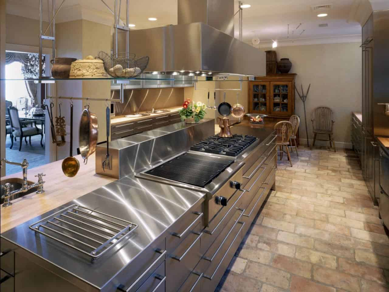 Modern Kitchen Countertops from Unusual Materials: 30 Ideas on Modern Kitchen Counter  id=48419