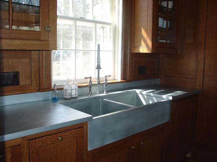 Modern Kitchen Countertops from Unusual Materials: 30 Ideas on Kitchen Counter Decor Modern  id=24743
