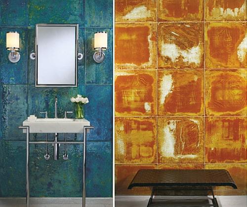 ann sacks aura glass tile collection