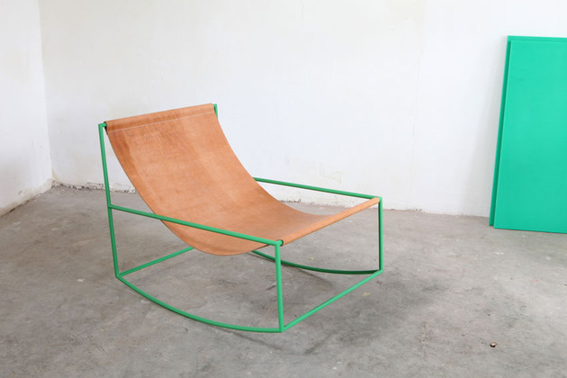 Can Minimalist Be Cozy Aesthetically Pleasing Rocking Chair By Muller Van Severen