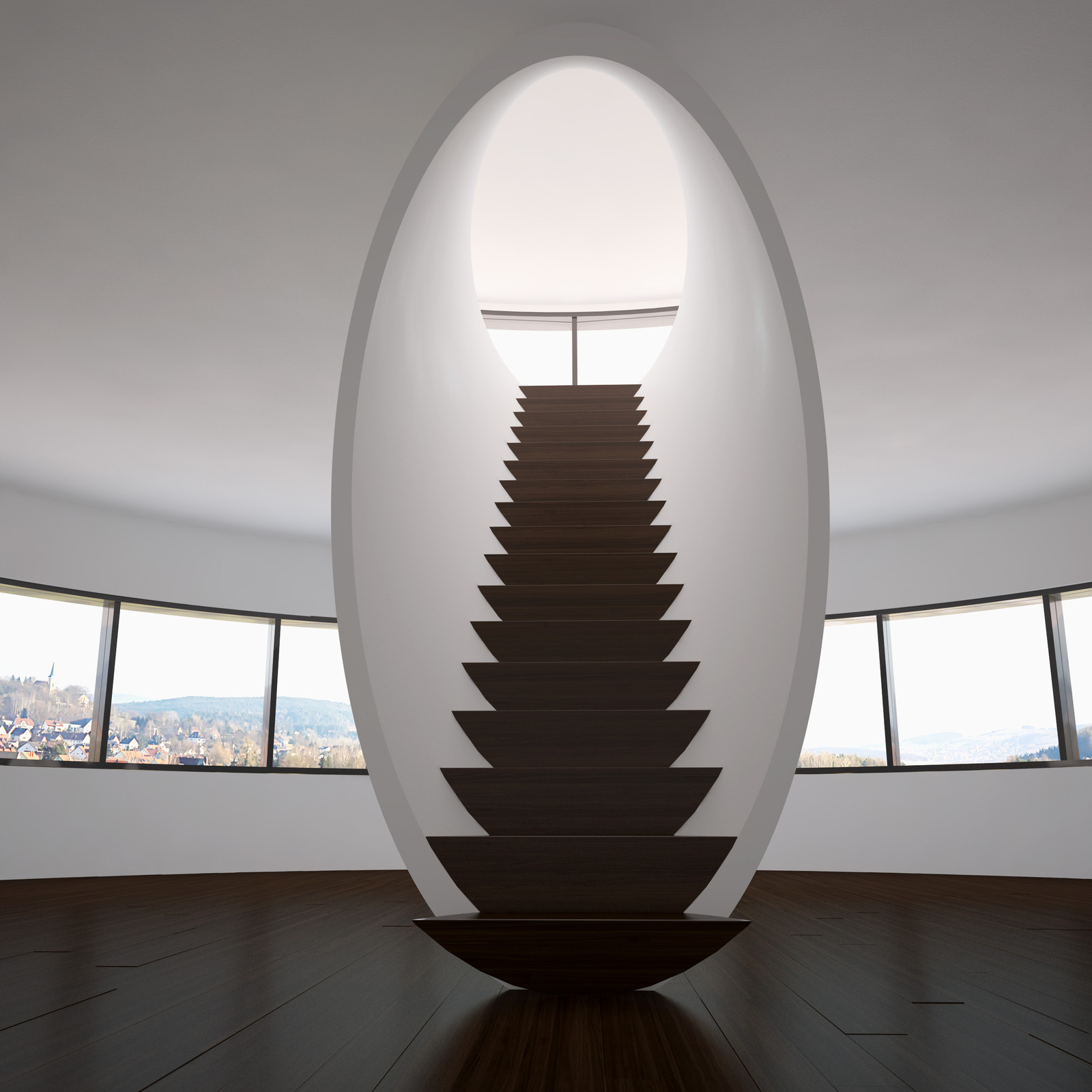 Unique and Creative Staircase Designs for Modern Homes on Creative Staircase Wall Decorating Ideas  id=90524