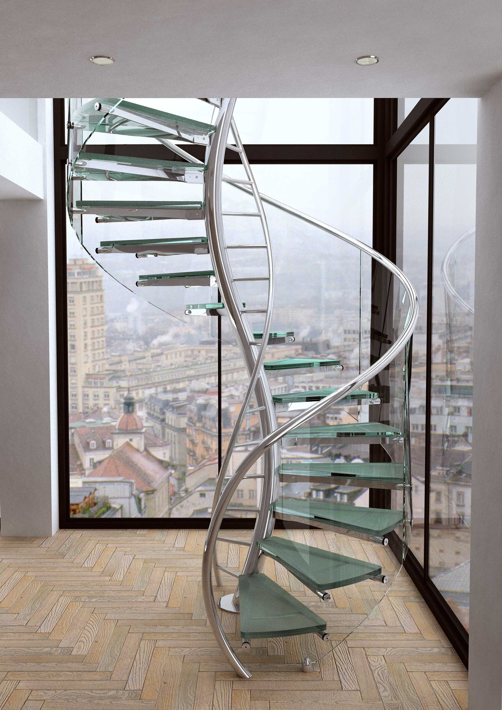 Unique And Creative Staircase Designs For Modern Homes | Steel Spiral Staircase Design | Concrete | Outdoor | Wood | Structural | Cast Iron