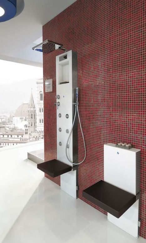 shower column from hafro the new