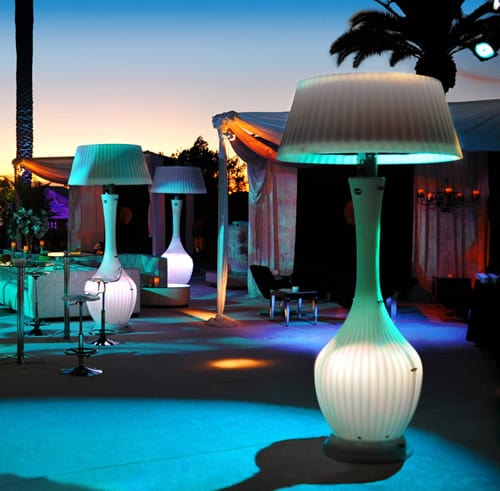Patio Heater Lamps By Kindle Living