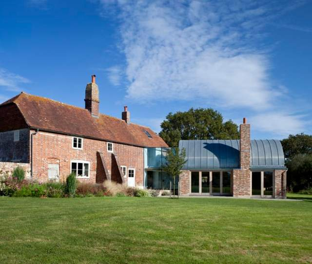 View In Gallery Th Century Farmhouse Extension X  Extension For Th Century Farmhouse