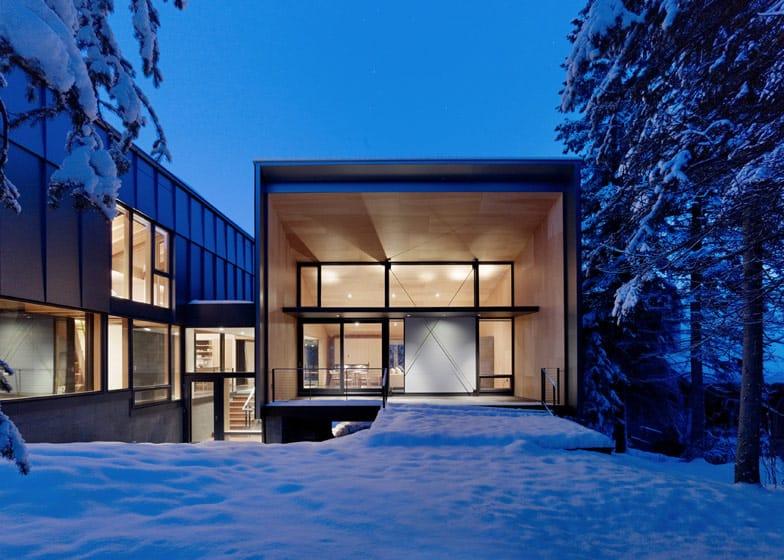 Rocky Mountain Weekend Home With Modern Scandinavian Flare
