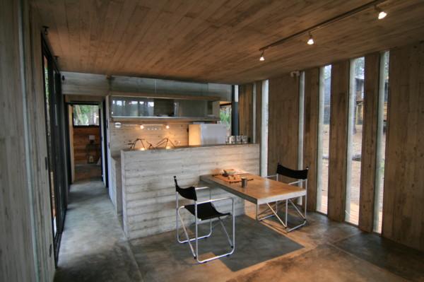 Vacation House Design Rustic Concrete Cottage Built For